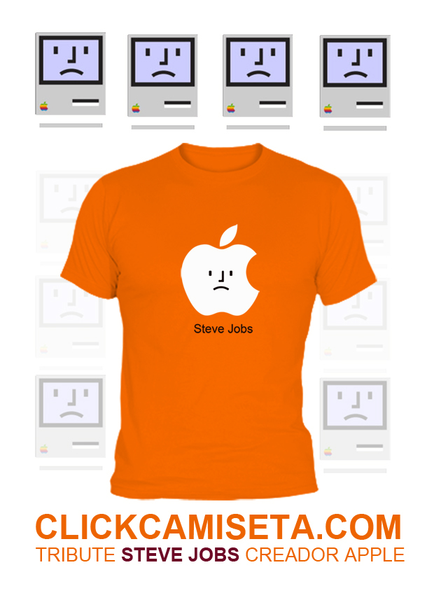 apple camiseta MIN